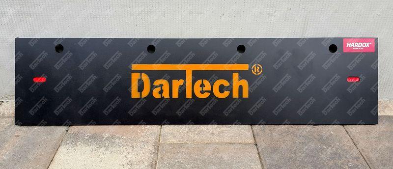 Dartech Hardox acél lemez erősítésű hótoló gumiél